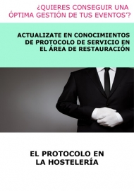 EL PROTOCOLO EN LA HOSTELERÍA - A DISTANCIA