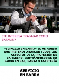SERVICIO EN BARRA - A DISTANCIA