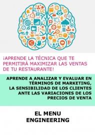 CURSO INGENIERIA DE MENÚS - ONLINE