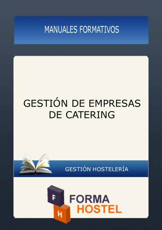 GESTION EMPRESAS DE CATERING - MANUAL