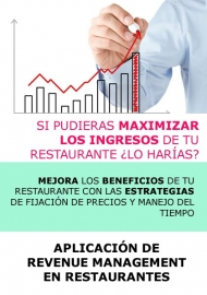 APLICACION DE REVENUE MANAGEMENT EN RESTAURANTES - A DISTANCIA