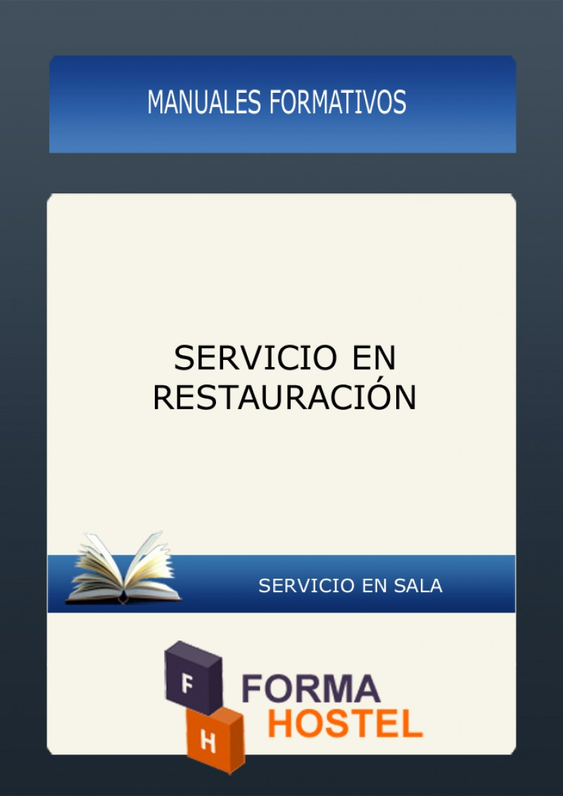 SERVICIO EN RESTAURACIÓN - MANUAL