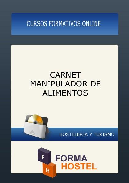 CARNET MANIPULADOR DE ALIMENTOS - ONLINE