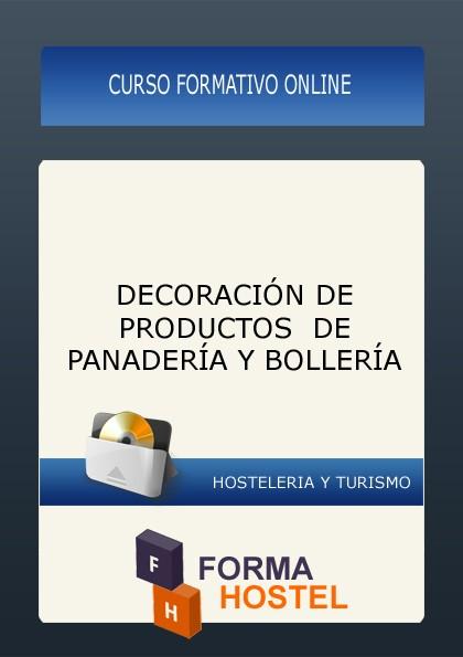 DECORACIÓN DE PRODUCTOS DE PANADERÍA Y BOLLERÍA - ONLINE